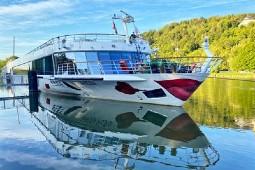 Die Arosa Flora wird ab Mai 2022 Reisen ins Donau Delta und in Metropolen an der Donau unternehmen. Foto: A-ROSA Flussschiff GmbH