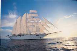 Ab dem 3. Dezember 2022 setzt der Viermaster Star Clipper zu 16 Reisen entlang der Pazifikküste Costa Ricas die Segel. Foto: Star Clippers