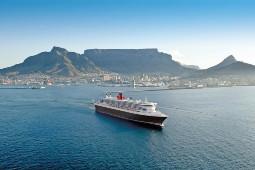 Die Jubiläums-Weltreisen 2023 mit der Queen Mary 2 und Queen Victoria sind auch in kürzeren Teilstrecken buchbar. Foto: Cunard