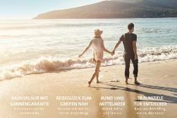 In seinem ersten saisonalen Reisemagazin stellt FTI rund 25 Urlaubsziele aus seinem Sommer-Portfolio vor. Foto (Ausschnitt Cover): FTI