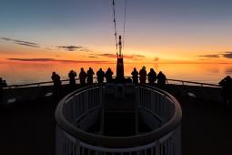 An Bord der MS Roald Amundsen geht es mit Hurtigruten auf Expedition durch die sagenumwobene Nordwest-Passage. Foto: Karsten Bidstrup/Hurtigruten