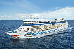 Vom 22. Mai bis 9. Juni legt die Aida Sol zu Kurzreisen ab Kiel ab. Foto: Aida Cruises