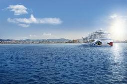 Ab Juli fährt die Aida Perla im Mittelmeer spanische Ziele an. Foto: Aida Cruises