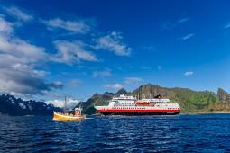 Die MS Otto Sverdrup wurde kürzlich komplett modernisiert. Foto: Agurtxane Concellon/Hurtigruten