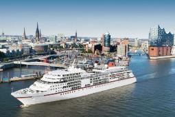 Am 13. Juli startet auch das Luxusschiff Europa aus der Flotte von Hapag-Lloyd Cruises wieder. Foto: Hapag-Lloyd Cruises