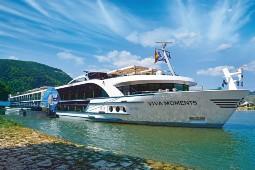 Den langersehnten Saisonstart auf der Donau macht das neueste Mitglied der Viva-Flotte, die Viva Moments. Foto: Viva Cruises