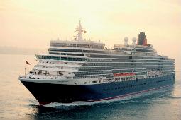 Im Oktober begrüßt auch die Queen Elizabeth wieder internationale Gäste an Bord. Foto: Cunard