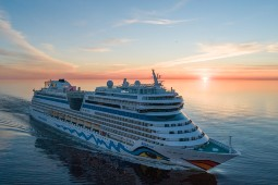 Mit der Aida Mar eröffnet Aida Cruises in Hamburg die Kreuzfahrtsaison. Foto: Aida Cruises