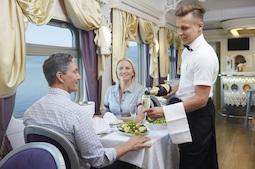 Legendäre Zugreisen jetzt über Ameropa für 2022 im Reisebüro buchbar. Foto: Ross Hillier/Ameropa