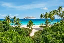 Im Winter bietet Aida verschiedene Routen in der Karibik an. Foto: Aida Cruises