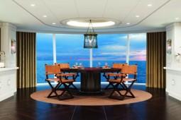 Die Owners Suiten erstrecken sich über die gesamte Breite der Vista. Foto: Oceania Cruises