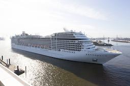 Im Winter stehen europäische Metropolen neu auf dem Fahrplan ab/bis Hamburg. Foto: MSC Cruises