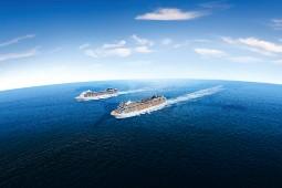 Im Januar 2023 schickt MSC erstmals zwei Schiffe auf Weltreise. Foto: MSC Cruises